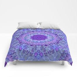 Wisteria Mandala Comforters
