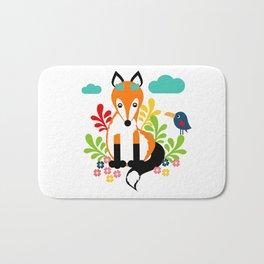 Miss Fox Bath Mat