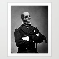 general Art Prints featuring General Skully by George Michael Art