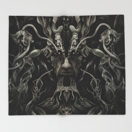 A Consumption of Memory and Identity Throw Blanket