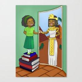 Finding my inner Queen Canvas Print