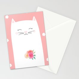 cat bride Stationery Cards