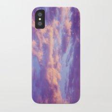 Dreamy Clouds iPhone X Slim Case