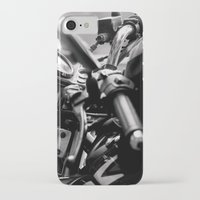 moto iPhone & iPod Cases featuring moto by Farkas B. Szabina