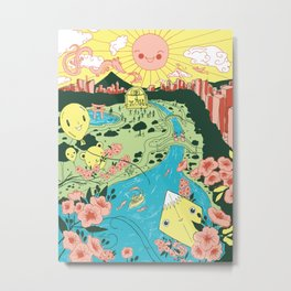 Japan Day Metal Print