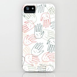 Hands On iPhone Case