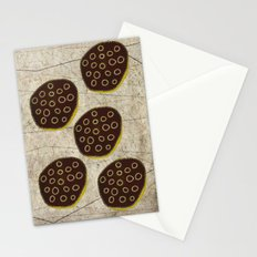 Black Lotus Stationery Cards
