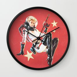 Nuka Cola Girl Wall Clock