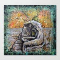 siren Canvas Prints featuring Siren by Doom