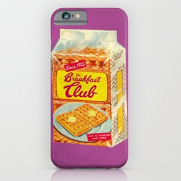 Breakfast Shot iPhone Case
