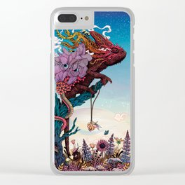 Phantasmagoria II Clear iPhone Case
