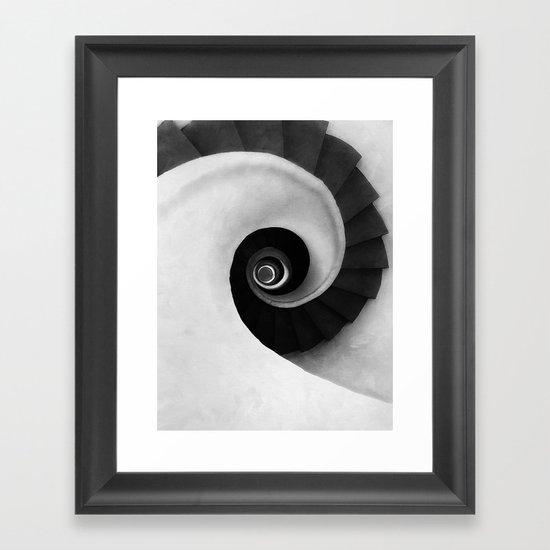 Minimal B&W IV Framed Art Print