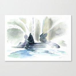 Swann Fountain Canvas Print