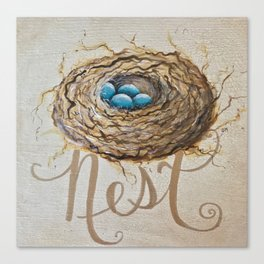 Nest Where You Are Canvas Print