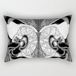 Expanding Mind Rectangular Pillow