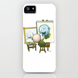 Baby Norman Zombiewell iPhone Case