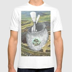 Home MEDIUM Mens Fitted Tee White