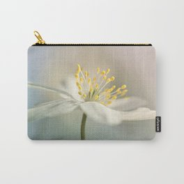 Loveable Wood Anemone... Carry-All Pouch