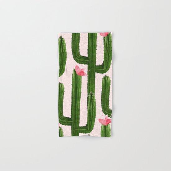 Happy Cacti #society6 #decor #buyart Hand & Bath Towel