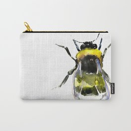 Bumblebee, bee artwork, bee design minimalist honey making design Carry-All Pouch