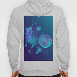 ABSTRACT SCIENCE TECHNOLOGY DESIGN Hoody