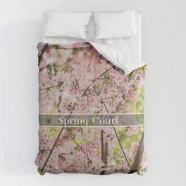 Spring Court Comforters