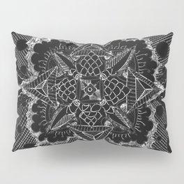 Divine Intention 5: Solar Black & White Pillow Sham