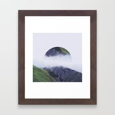 I found you dreaming.  Framed Art Print