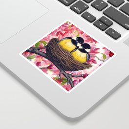 Chickadees Sticker