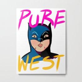Pure West Metal Print