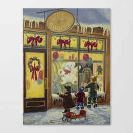 Toy Shoppe Canvas Print