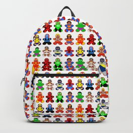 Superhero Gingerbread Man Backpack