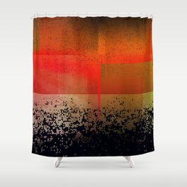 fossilfuel Shower Curtain