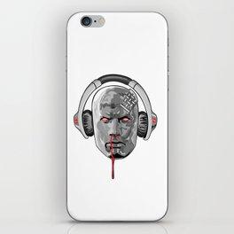 metal headed iPhone Skin