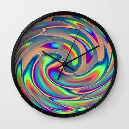 Digi Dye Wall Clock