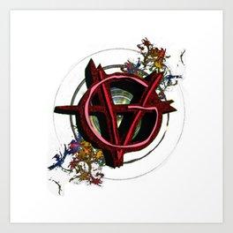 Vagenda Logo - Full Color VERSION ONE Art Print