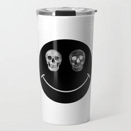 Just keep smiling Travel Mug