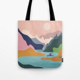 River Canyon Kayaking Tote Bag
