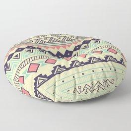 Aztec pattern 02 Floor Pillow