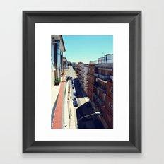 Minervino Sun Framed Art Print