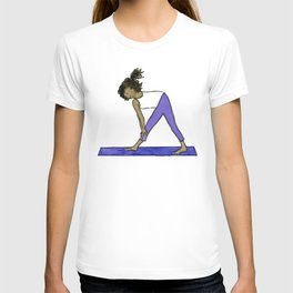 Yoga Folks - Standing Forward Bend.  T-shirt