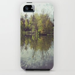 Mirror Duck Pond  iPhone Case