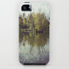 Mirror Duck Pond  iPhone Case