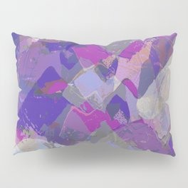 Moon Beam Abstract Pillow Sham