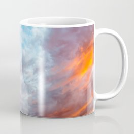 Fire in the Sky III Coffee Mug