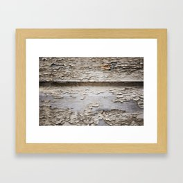 Flaky Framed Art Print