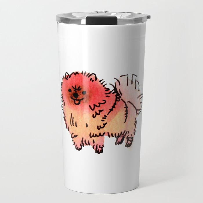 Pomelo - Dog Watercolour Travel Mug