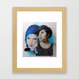 Life is Strange - Chloe Price | Ashly Burch Framed Art Print