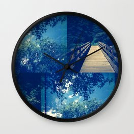 In the Forest 1 Wall Clock