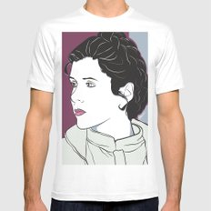 Icy Princess MEDIUM Mens Fitted Tee White